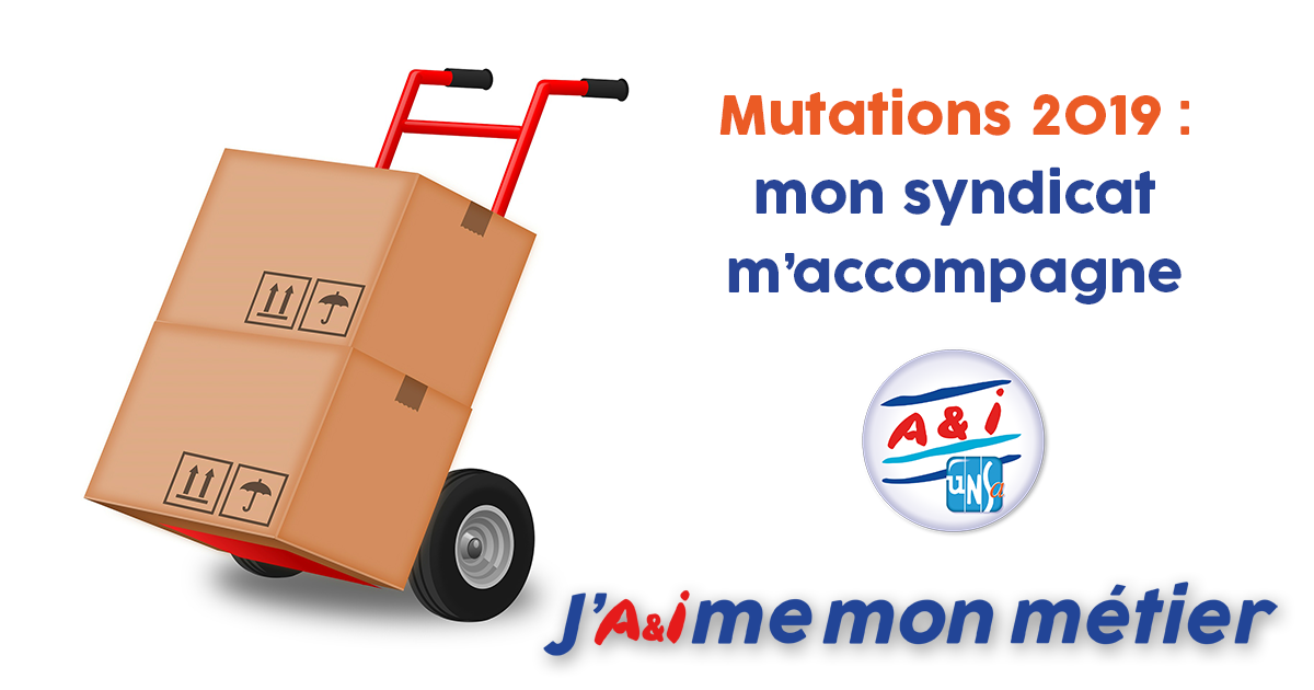 Calendrier Mouvement Intra Academique 2020.A I Unsa Special Mutations 2019